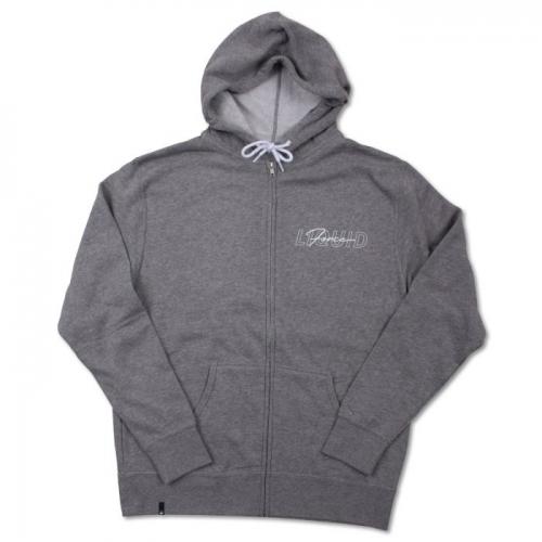 OVERLAY ZIP hoodie