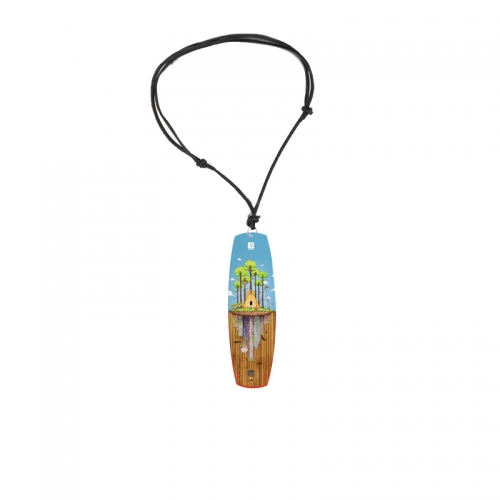 SHREDTOWN WAKEBOARD necklace