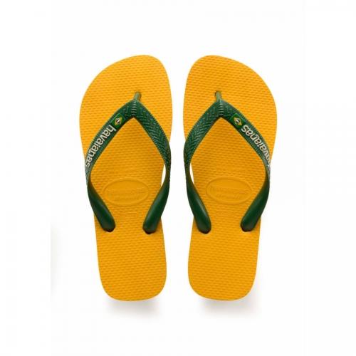 BRASIL LOGO BANANA YELLOW sandal