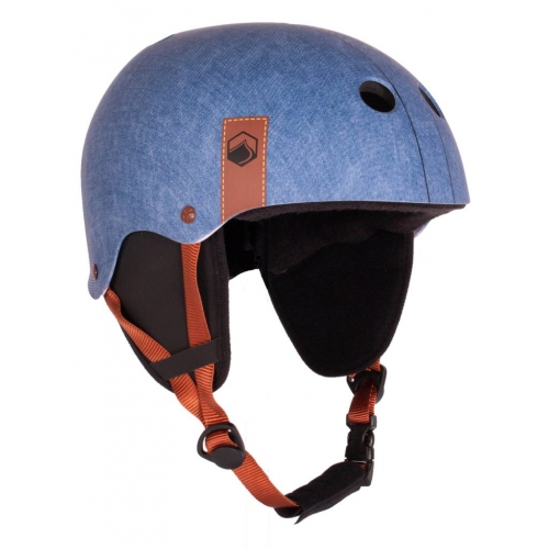 FLASH BLUE DENIM wakeboard helmet
