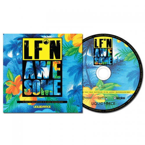 LF'N AWESOME Blu-ray disc